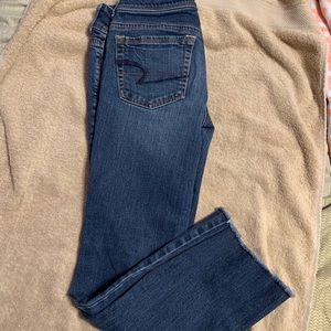 American eagle size 2 kick boot stretch jeans
